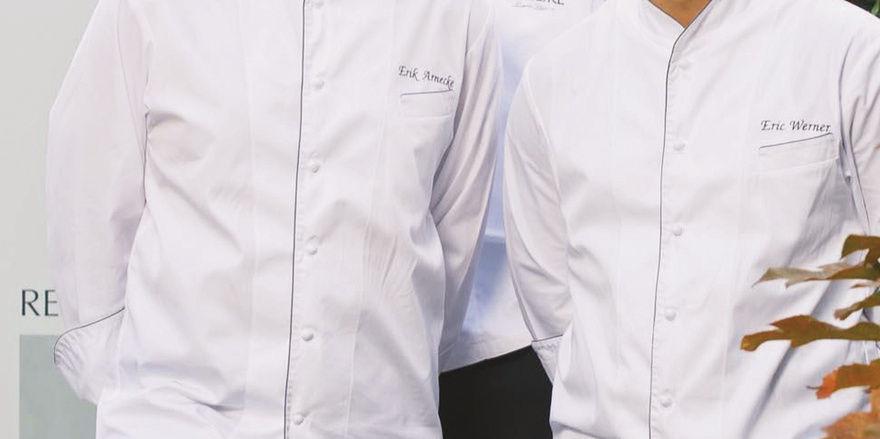 Wissen, was sie wollen: Berthold Bühler (Mitte) und seine neuen Küchenchefs Erik Arnecke (links) und Eric Werner