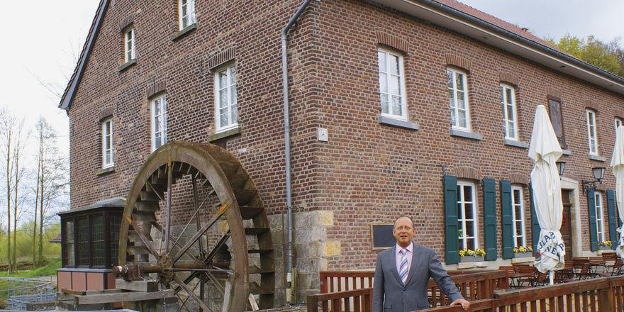 Ein Herz und eine Mühle: Dirk Zimmermann hat das Restaurant wiederbelebt und Hotelzimmer errichtet