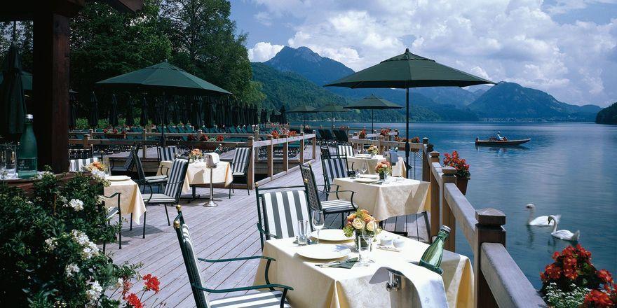 Fotostrecke die sch nsten terrassen allgemeine hotel for Design boutique hotel salzburg