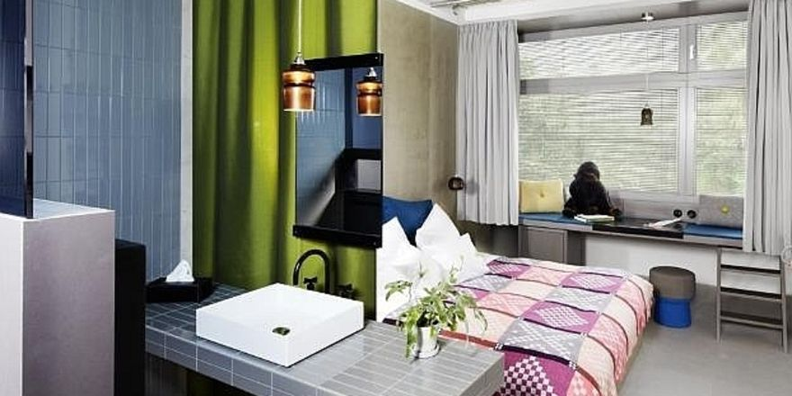 Musterzimmer Im 25hours Hotel Berlin Sind Fertig Allgemeine Hotel