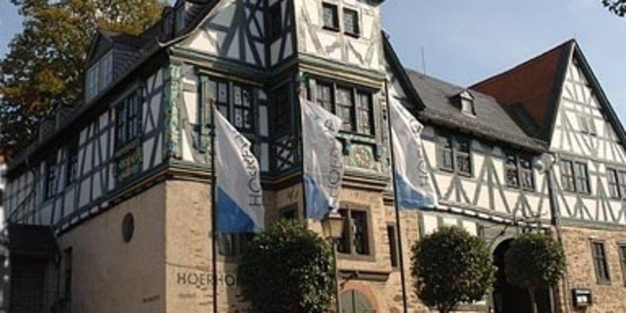 Historisches Fachwerk-Ensemble: Der Höerhof in Idstein bei Frankfurt