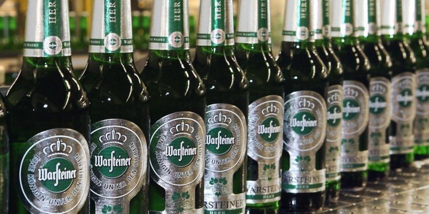 Hoffnungsträger: Große Erwartungen knüpft die Brauerei an das neue Produkt Warsteiner Herb