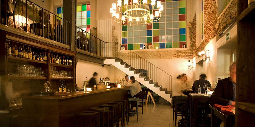 Eigener Charakter: Das spanische Restaurant La Tapia im Factory Hotel