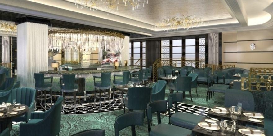 20er-Jahre-Look: Das Kaspar's im Savoy London