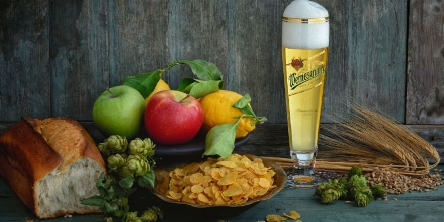 Wie bei den alten Meistern: Foto für die neue Bierkarte der Bitburger Braugruppe