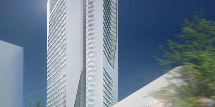 Geplanter Hotelturm im Europaviertel: Ein Grand Hyatt-Hotel wird darin nun doch nicht enstehen