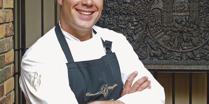 Florian Hartmann, Küchenchef des Restaurants Philipp Soldan im Hotel Die Sonne, Frankenberg