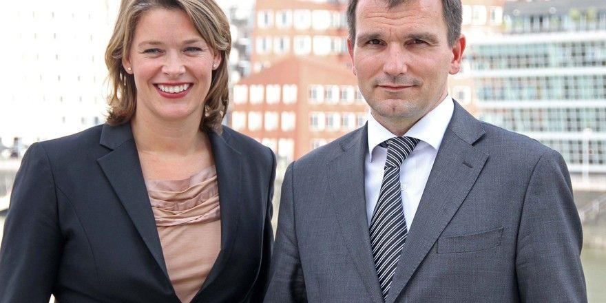 Vorgängerin und Nachfolger: Monique Dekker und Axel Ziegler
