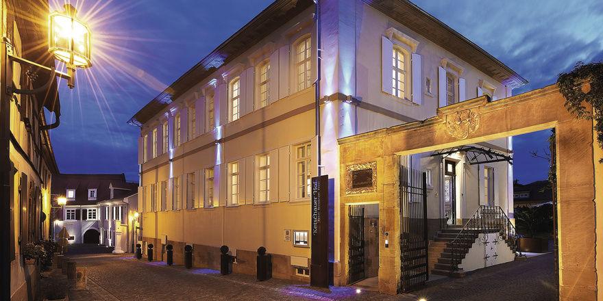 Vorzeigebetrieb: Das Hotel Ketschauer Hof gehört zum Ensemble des Weinguts Bassermann-Jordan