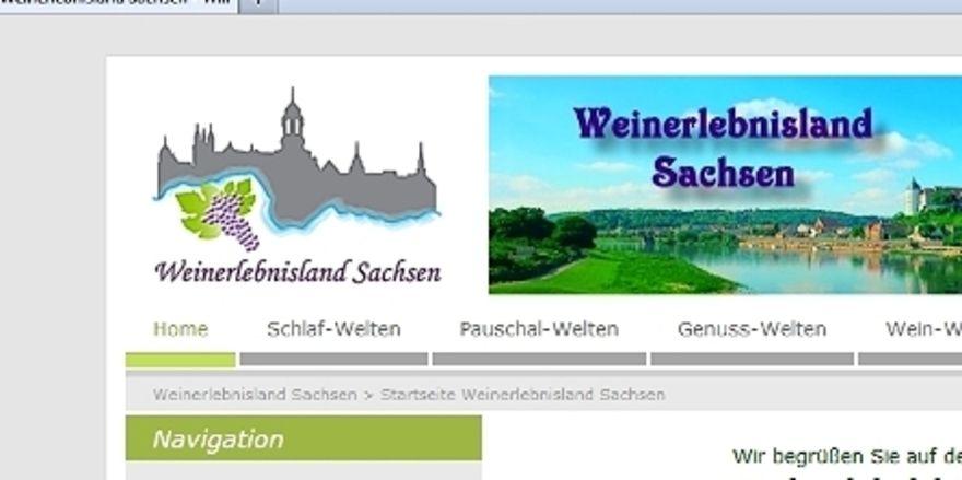 Alternatives Portal: Mit Weinerlebnisland-sachsen.de sollen Hoteliers Vertriebskosten senken