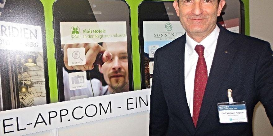 Apps für die Hotellerie: Carl Michael Nägele von The People