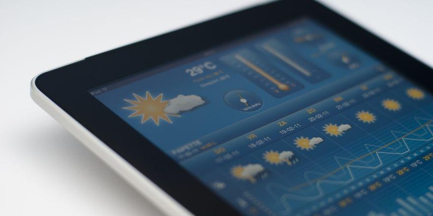 Informativ: Tablet-PCs liefern Gästen Service-Informationen, zum Beispiel zu lokalen Veranstaltungen und zum Wetter