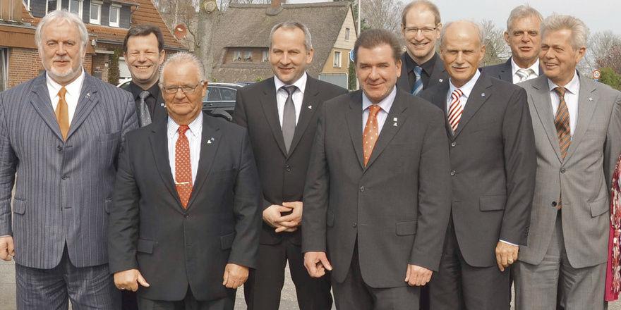 Übernimmt Verantwortung: Das neue Präsidium des DEHOGA Schleswig-Holstein