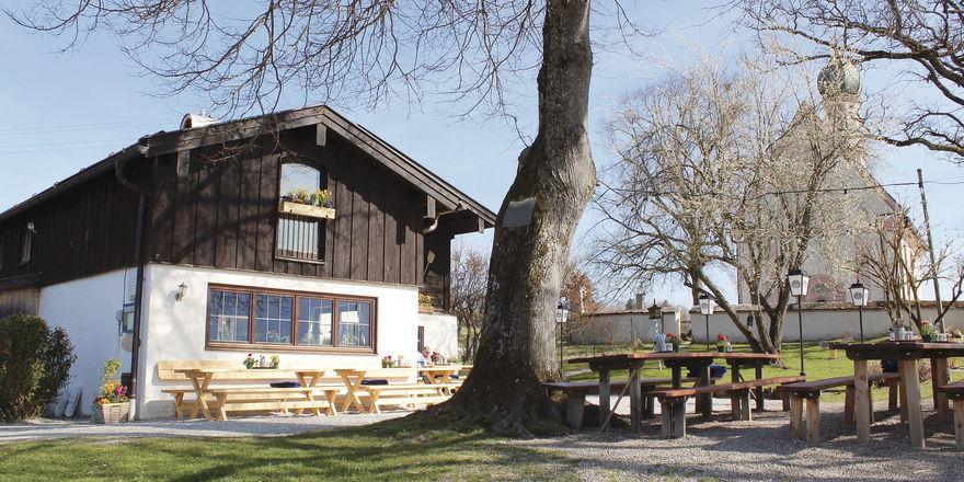 Postkartenidylle: Das Ähndl ist ein bayerisches Traditionswirtshaus wie aus dem Bilderbuch