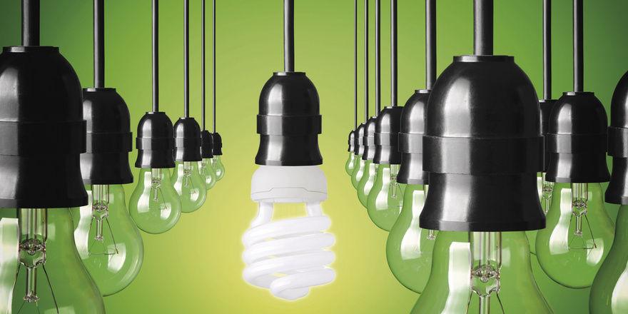 Energiesparlampen: Ein Weg zu geringeren Kosten