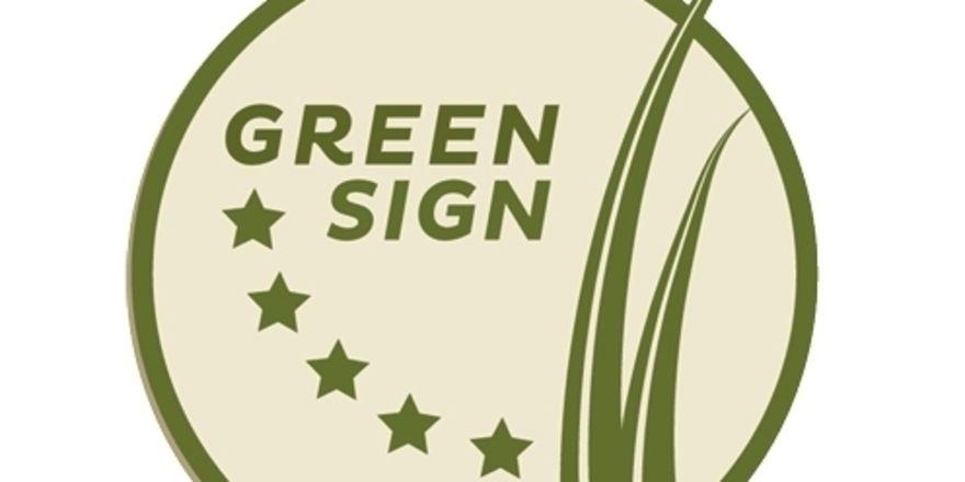 Green Sign: Mit diesem Logo werben die Greenline-Hotels jetzt für die Nachhaltigkeit ihrer Mitgliedshäuser