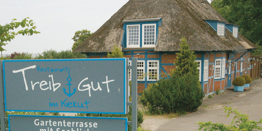 Idylle im Grünen: In ihrem Restaurant Treib-Gut in Altenhof bieten Elisa und Torsten Behnke Gastronomie, die sich jeder leisten kann