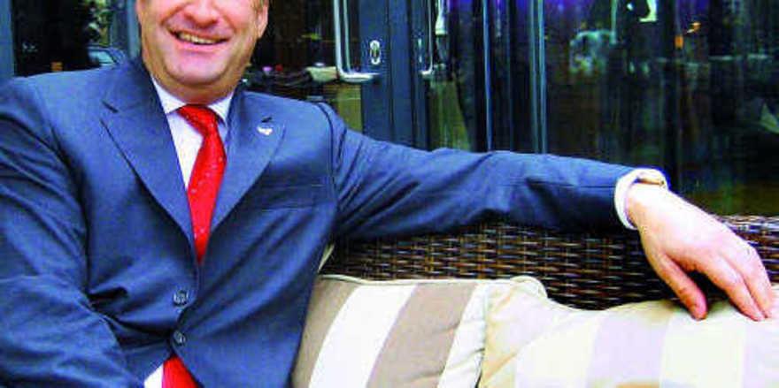 Gegen zu hohe Provisionen: Jürgen Gangl, HDV-Regionalleiter Berlin