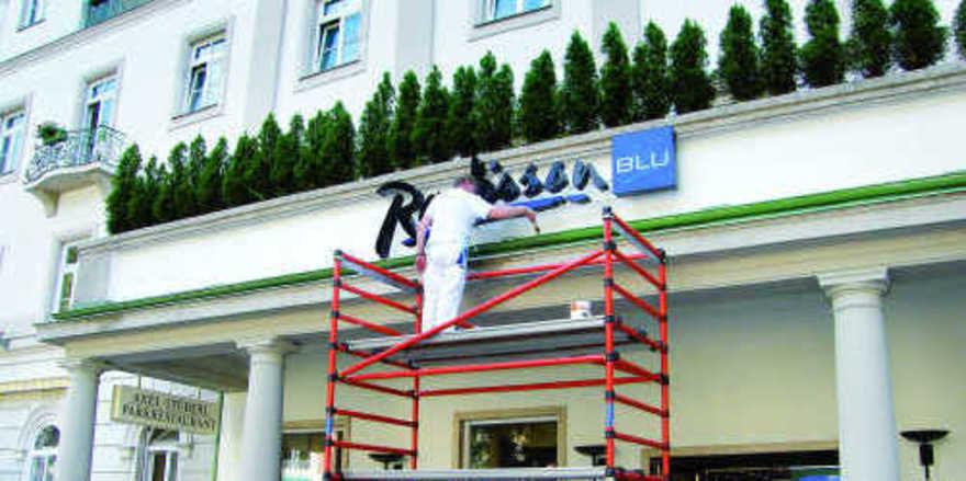 Kein Radisson Blu mehr: Das historische Hotel Axelmannstein