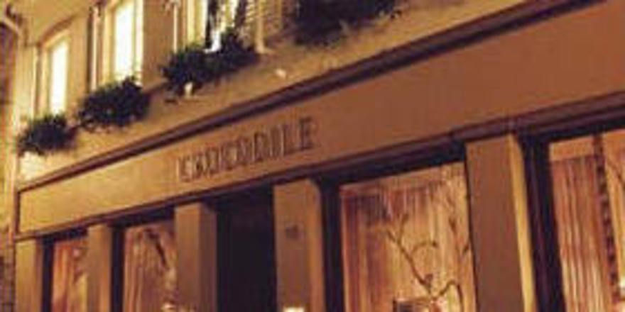 Eine Institution: Das Au Crocodile in Straßburg