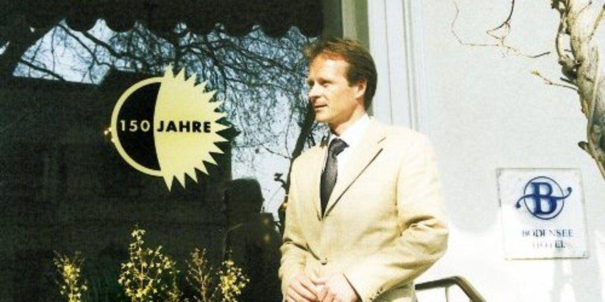 """150 Jahre Bayerischer Hof in Lindau: """"Wir versuchen, in all unseren Erscheinungsformen erstklassig zu sein"""", so Hotelier Dr. Robert Stolze. <tbs Name=""""foto"""" Content=""""*un""""/>"""