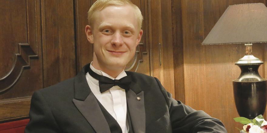 Michael Heine ist Chef de Rang in Brenners Park-Hotel und Gewinner des Preises für Große Gastlichkeit