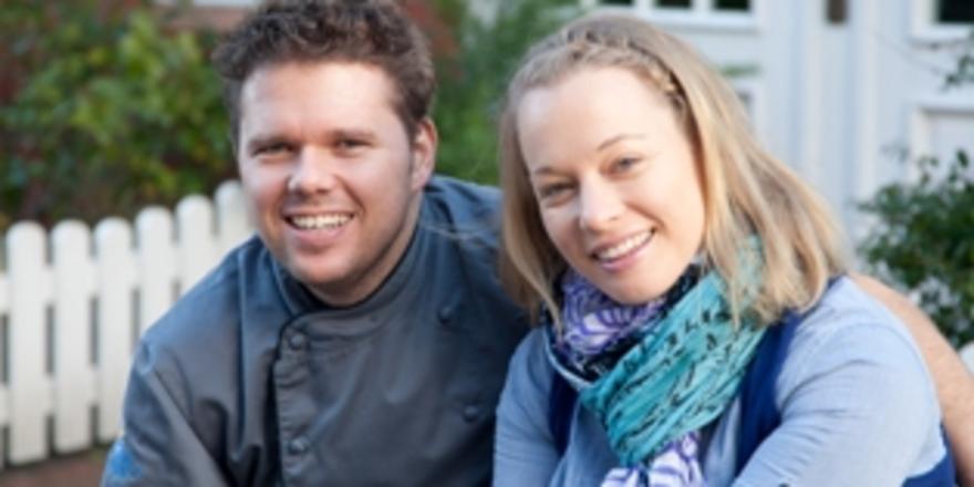 Gut gelaunt: Gastgeber Gunnar und Nicole Hesse
