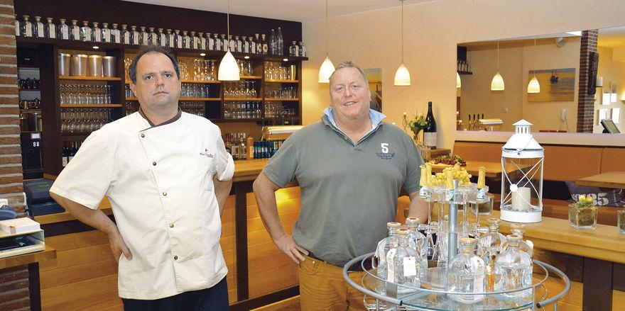 Ergänzen sich gut in der Küche: Horst Promberger (links) und Volker Muuss