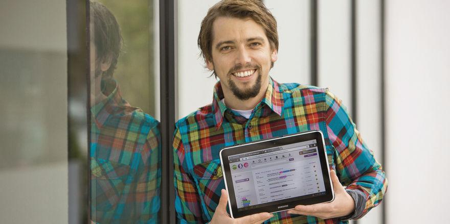 Intranet statt Notizzettel: Marius Donhauser hat für Hotels die Lösung Hotelkit entwickelt