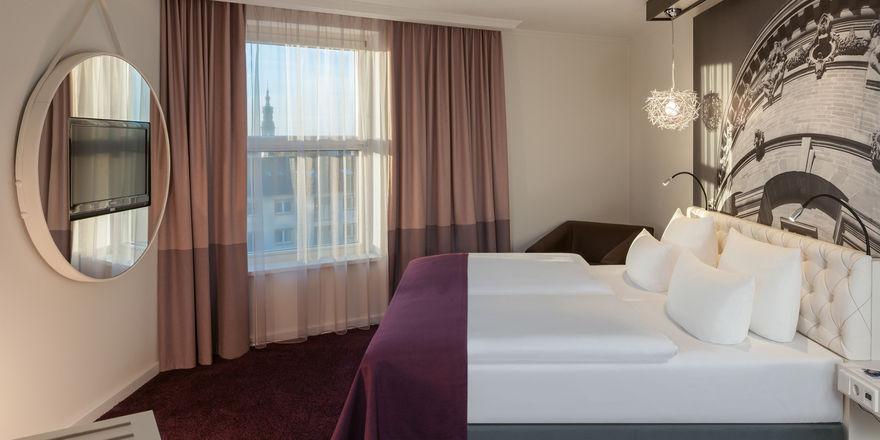 neue zimmer und suiten im dorint kongresshotel mannheim allgemeine hotel und gastronomie zeitung. Black Bedroom Furniture Sets. Home Design Ideas