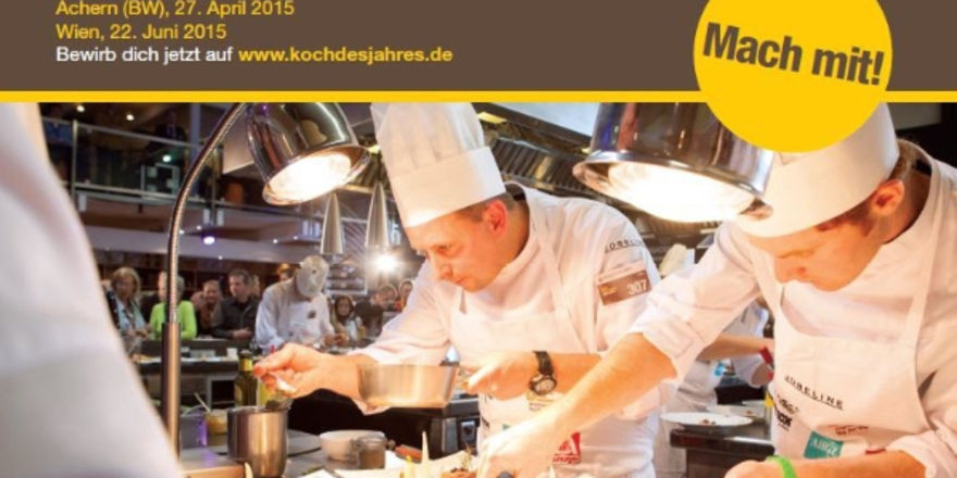 Jetzt noch f rs dritte vorfinale bewerben allgemeine for Koch des jahres