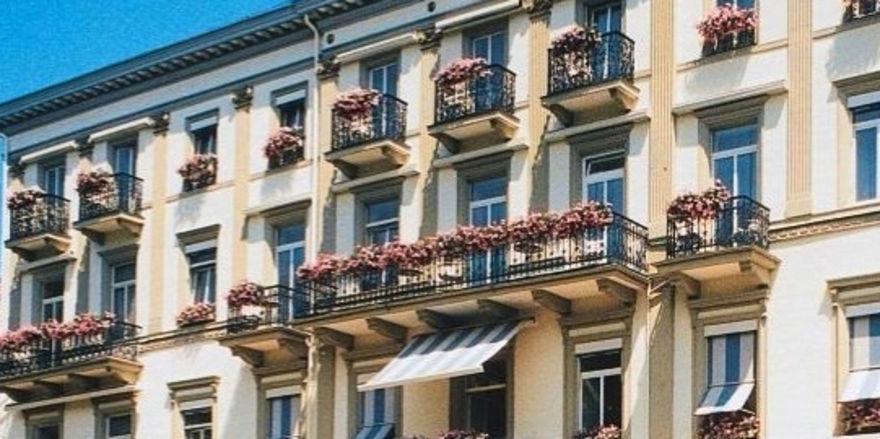 Soll mit Grandhotel-Standard wieder eröffnen: Der Europäische Hof in Baden-Baden, das Gründungshotel der Hotelkette Steigenberger