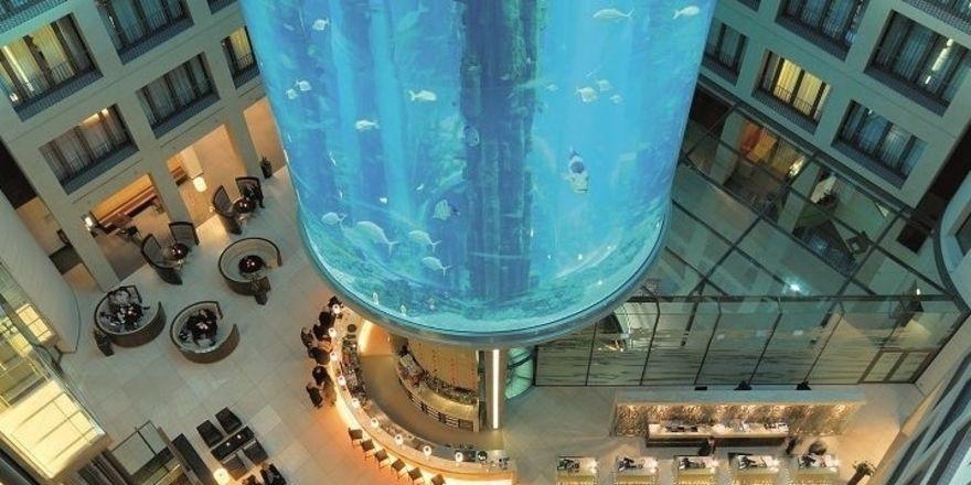 Spitzenreiter: Das Radisson Blu Hotel Berlin ist laut Hotel.de das beliebteste Businesshotel in Deutschland