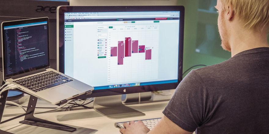 Verwaltungstool: Das Programm Shyftplan kombiniert die Zeiterfassung mit einem Online-Dienstplan