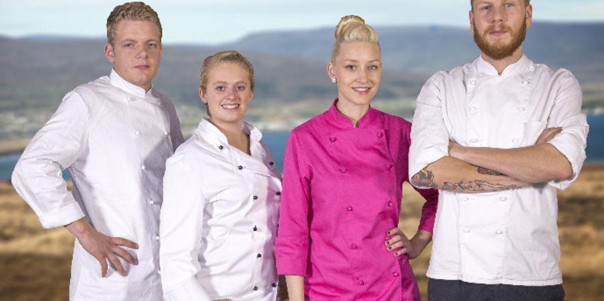 Experiment in Island: Philipp (20), Caroline (23), Ina (22) und David (23) übernehmen ein isländisches Café