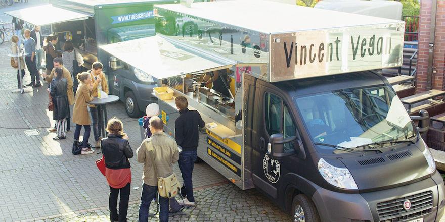 Mobil und vegan: Foodtruck von Vincent Vegan in Hamburg