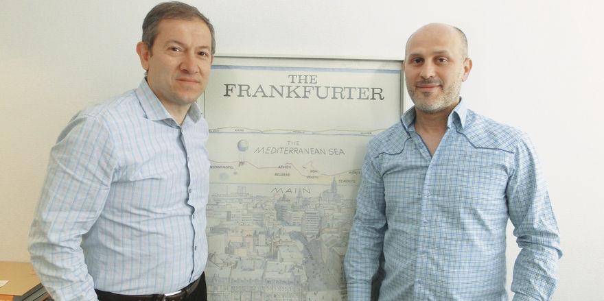 Frankfurt, wir kommen: Motel Plus-Geschäftsführer Beklan Coskun (links) und Franchisenehmer Adem Capar