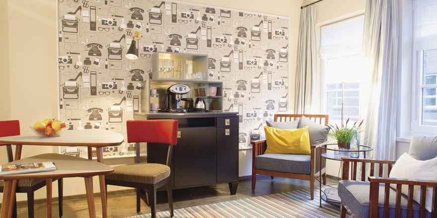 Stylish: Das Hotel Henri in Hamburg hat sich als Designhotel positioniert