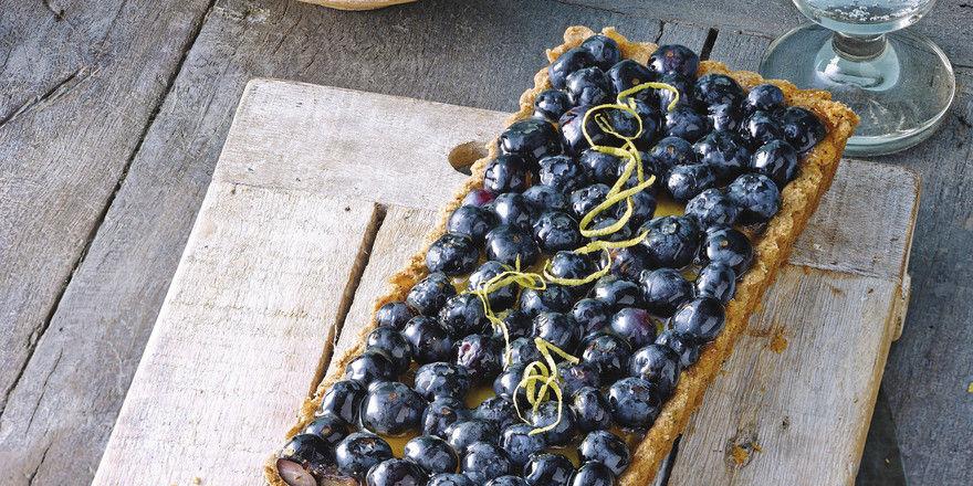 Zum Reinbeißen: Blaubeer-Zitronen-Tarte