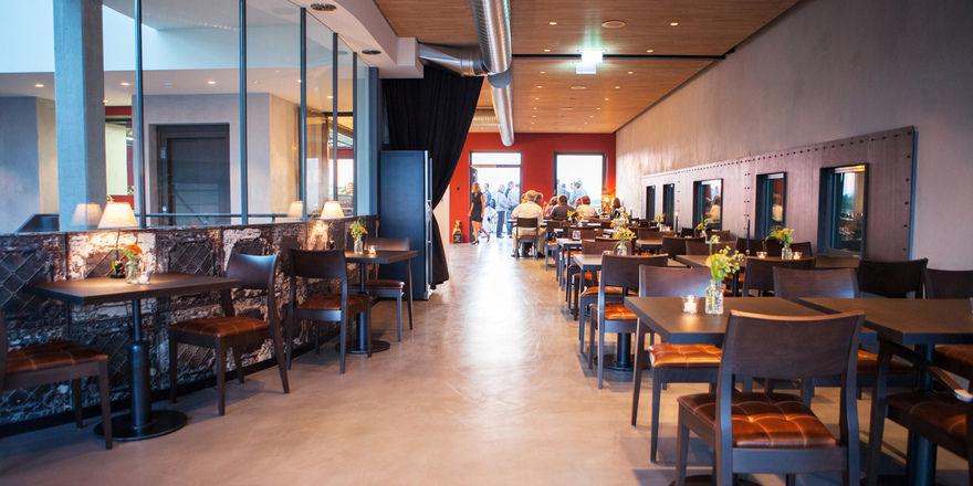 So sieht es aus: Das neue Restaurant Fliegerhorst in Südbaden