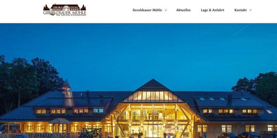 Neu am Platz: Die Geroldsauer Mühle in Baden-Baden