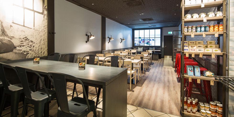 Neue nordsee filiale in frankfurt allgemeine hotel und for Designhotel nordsee