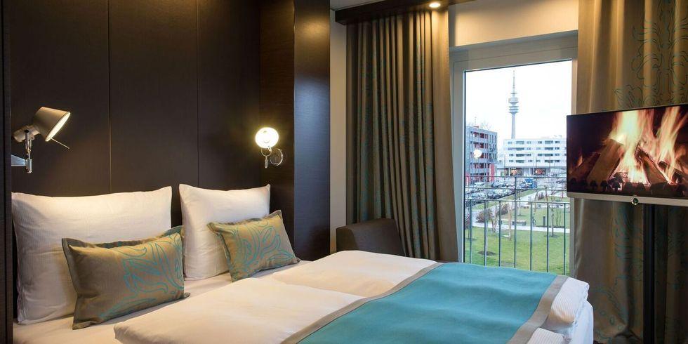 Motel one m nchen olympia gate am start allgemeine hotel for Zimmer mit aussicht