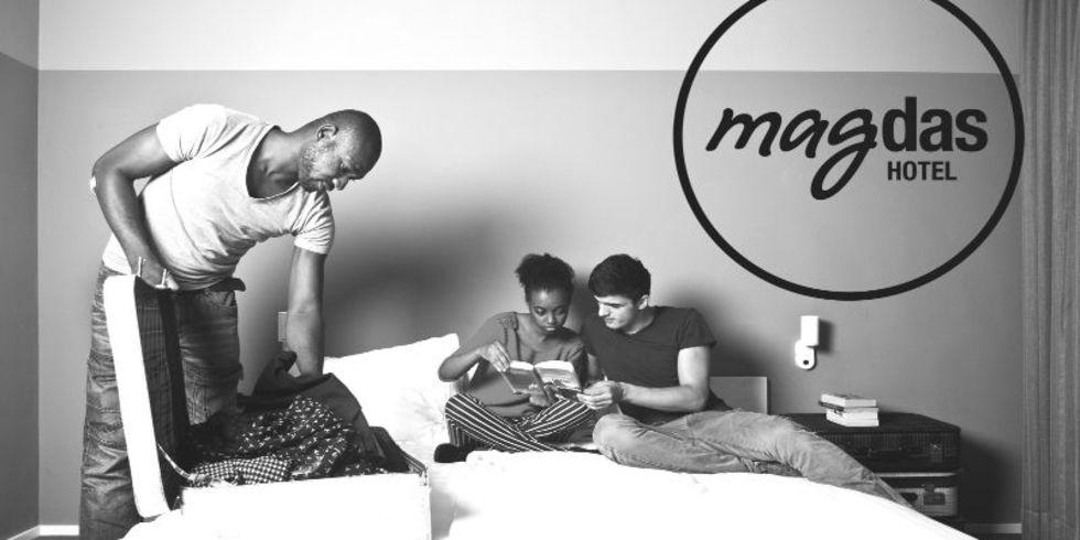 magdas hotel wien ffnet seine t ren allgemeine hotel und gastronomie zeitung. Black Bedroom Furniture Sets. Home Design Ideas
