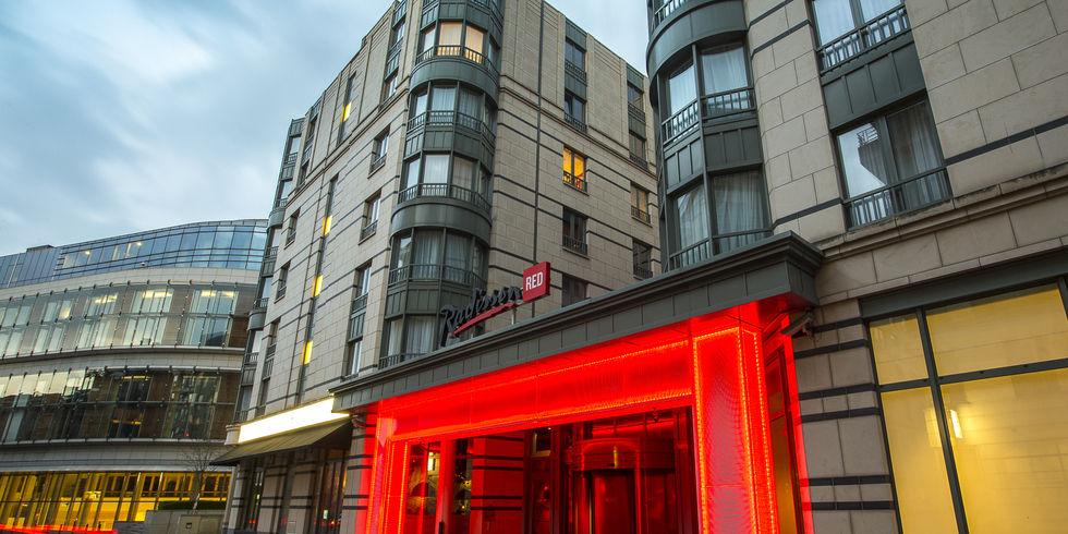 Erstes radisson red geht an den start allgemeine hotel for Design hotel belgien