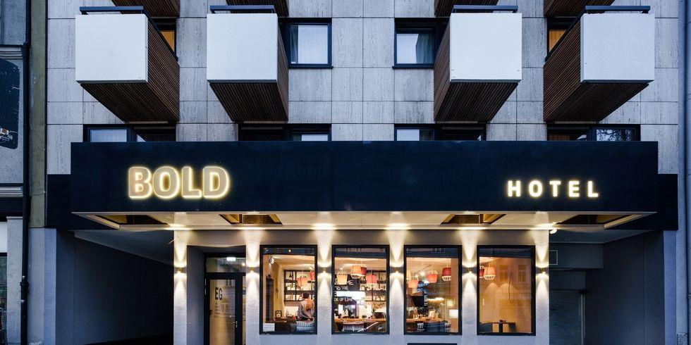 Zweites bold hotel in m nchen startet allgemeine hotel for Design hotel kette