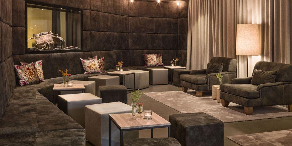 Naturhotel forsthofgut mit neuer lobby allgemeine hotel for Design hotel leogang