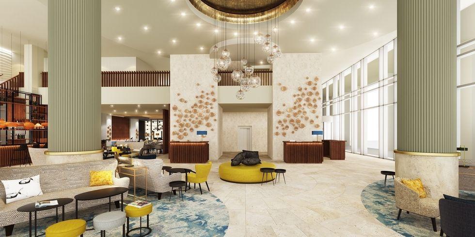 Marriott startet in rotterdam allgemeine hotel und for Design hotel kette