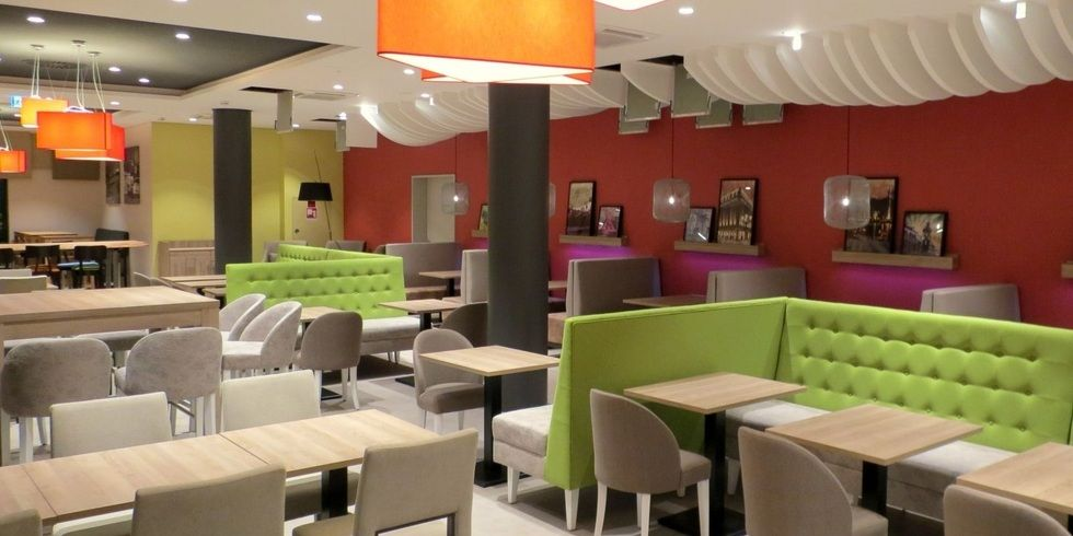 Das neue holiday inn d sseldorf in bildern allgemeine for Neue design hotels