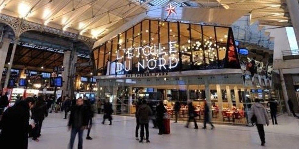 Bahnhof gare du nord jetzt mit sternegastronomie allgemeine hotel und gastronomie zeitung - Restaurant gare saint lazare ...
